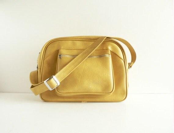 American Tourister Messenger Bag, Tawny Yellow