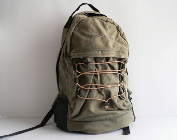 Vintage Canvas Backpack by Tommy Hilfiger