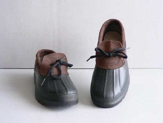 Vintage Duck Boots,  Women's Size 8 Rain Boots