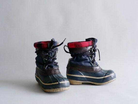 Kids Duck Boots, Child Size 11