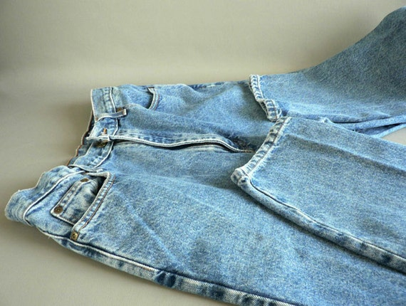 High Waisted Denim Jeans, Women's Denim Jeans by Eddie Bauer Size 12 Tall