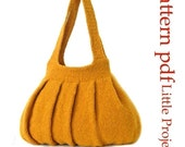 Pleats Purse I - Knit Version - Pattern PDF
