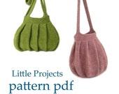 Pleats Purse I and II eBook - Crochet Version - Pattern PDF