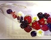 Study in Lampwork Berries 5 tuts in 1 By Laurie D
