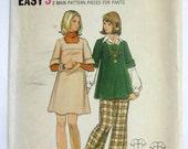 Vintage 1977 Butterick Pattern 3210 - Maternity Pattern - Size 10