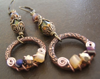 Earrings - Fanciful Boho Dangles