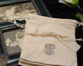 25 Wedding favor bags, personalized, party, monogram, muslin, tea, drawstring pouches