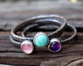 Totally 80s - Tres Stacking Rings...