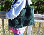 Emeralds Purse and Matching Mittens