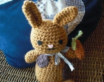 Patches - The Adorable Bunny Amigurumi
