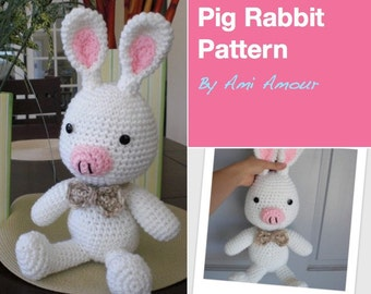 Pig Rabbit Pattern PDF Kdrama
