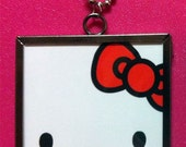 Hello Kitty double-sided necklace