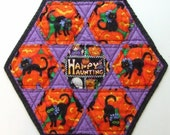 Happy Hexagons Placemat PATTERN - electronic pdf delivery