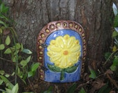 Made to order custom fairy doors by muddy muse pottery