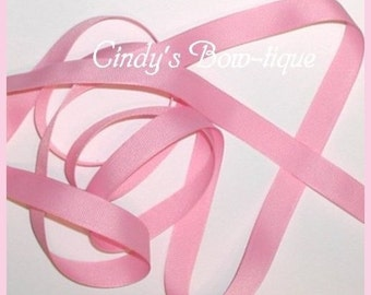 Pastel Pink Grosgrain Ribbon Offray 7 yards 5/8 inch wide Color 150 cbfiveeight