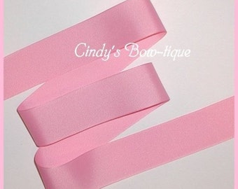 Pink Grosgrain Ribbon 5 yards 1 1/2 inch wide Offray Made in USA cbonefive