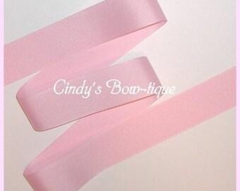 Pastel Light Pink Ribbon Grosgrain 5 y 1 1/2  Offray Color 117 cbonefive