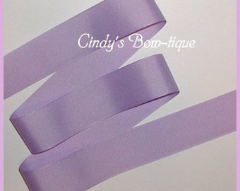 Lilac Ribbon Lavender Grosgrain 5 yards 1 1/2 inch wide cbonefive