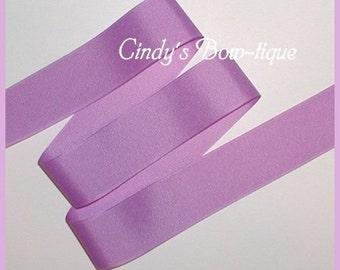 Lavender Pastel Ribbon Grosgrain 5 yards 1 1/2 inch wide Offray Orchid Color 450 cbonefive