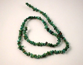 16 Inch Strand Turquoise Chips