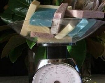 Soap Vegan 2 pounds of soap ends made with Hempseed Oil and Shea Butter