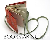 DIY Kit, Book Making Kit, Instructions for a blizzard book, Bookmaking, Make an origami book,bookbinding tutorial,instructions,Ready to Ship