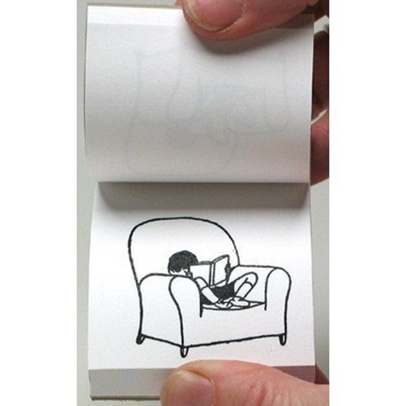 Flipbook for Book Lovers flip book Gift for Readers book – Green Chair Press