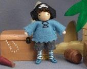 Pirate Bendy Doll by Princess Nimble-Thimble