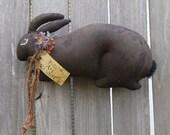 Folk Art Doll Primitive Rabbit MADE TO ORDER