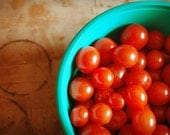 CUSTOM ORDER Red Cherry Tomatoes -- 11x14 print