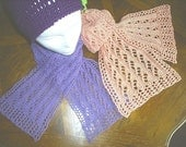 Rainfall Lace Scarf pattern