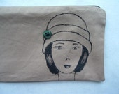 Buttoned Cloche Pouch for Decadence2artbar