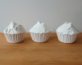 CUSTOM LISTING/ 3 Forever Cupcakes for kventuradesign