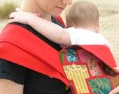 Kimono Mei Tai - Asian-style Baby Carrier