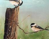 Fencepost Chickadees