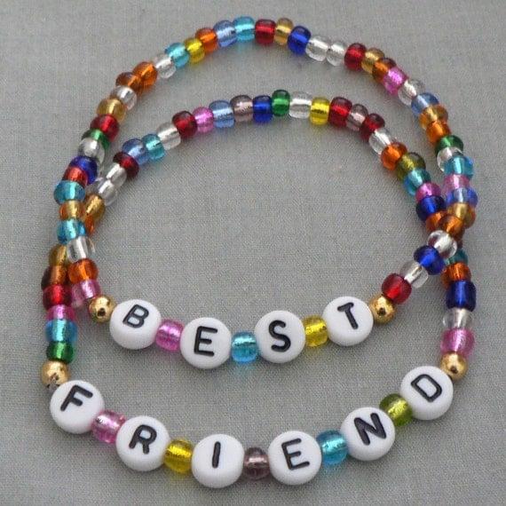 Children's Jewelry Bracelets BEST FRIEND Set Great Gift Or