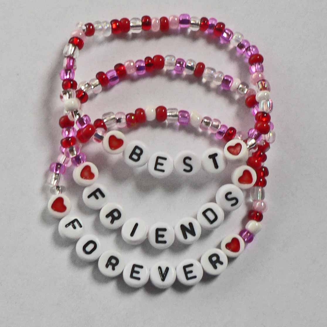 Set Of 3 Bff Best Friends Forever Personalized Children S