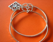 Sterling Silver Charmbangle