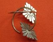 Japanese Style Daisy Earrings