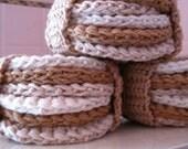 All Organic Cotton Scrubettes Plus Headband