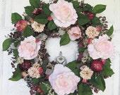 Rose Splendor Wreath
