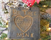 Primitive Heart Be Thee Mine Silicone Mold