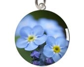 Forget-Me-Not Charm Pendant