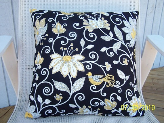 Resrved For Taddeole-Designer 16x16 Pillow Cover