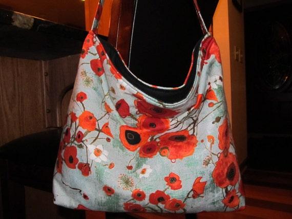 Designer Poppy Slouch Bag