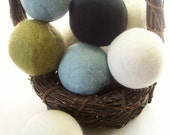 Natural Wool Dryer Balls - Twin pack