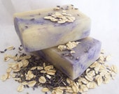 LAVENDER and OAT Oatmeal Soap