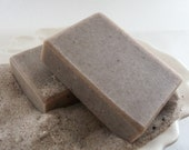 SAND + SOIL with pumice, scrubby soap, palm free ... Black Kettle