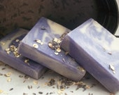 SALE Palm Free LAVENDER and OAT Oatmeal Handcrafted Artisan Soap
