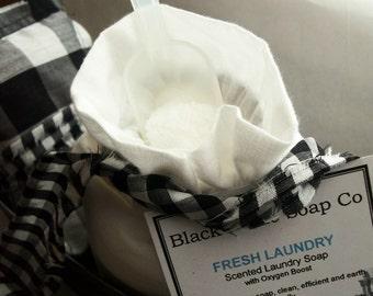 Laundry Soap try FRESH LAUNDRY ... Black Kettle